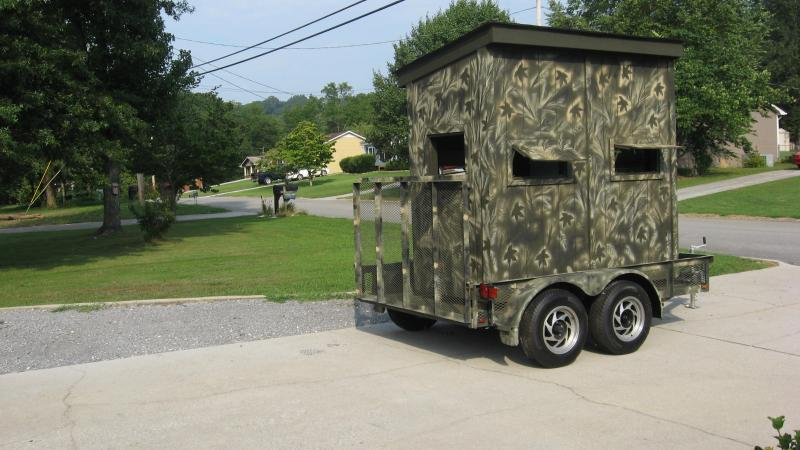 Danny Tackett Home Deer Blind Shooting House Plans A